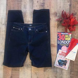 D&G Dolce & Gabbana Dark Wash Jeans Size 29 Long